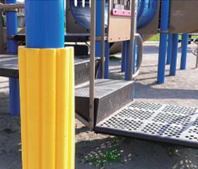 公園の遊具での使用実績2