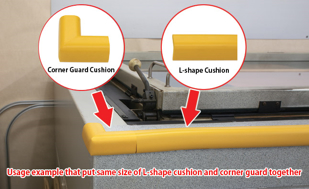 Corner Guard Cushion Edge Type